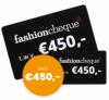 Gratis kans op een Fashioncheque twv €450 | Veel winnaars!