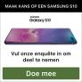 Maak kans op een Samsung Galaxy S10